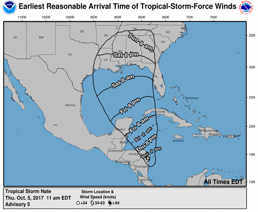 Hurricane_Nate_2017_expected_path