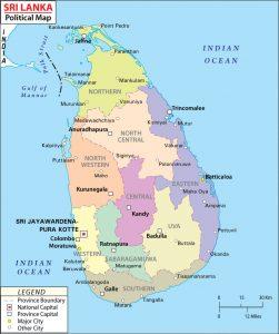 Sri Lanka Demographics Population Religion Percentage 2017