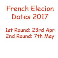French Presidential Election Dates 2017